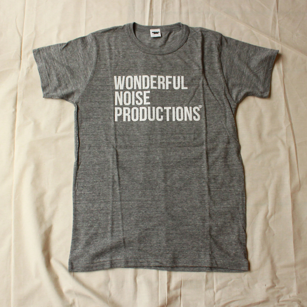 Wonderful Noise Productions T-Shirts (Gray / M)