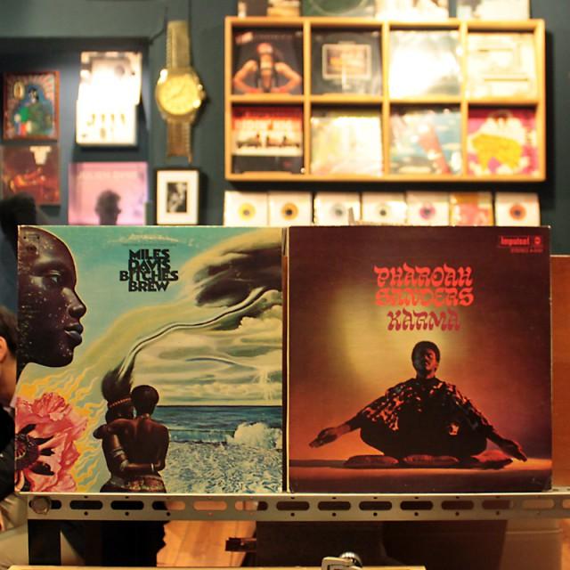 2013.10.25 Used Jazz/Rock/Soul LP