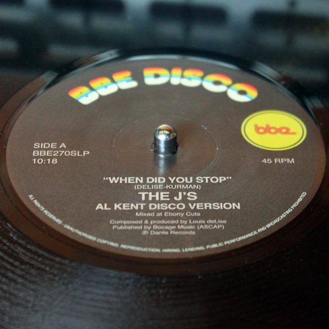 The J's / Sandy Barber (Al Kent Mixes) (BBE) 002